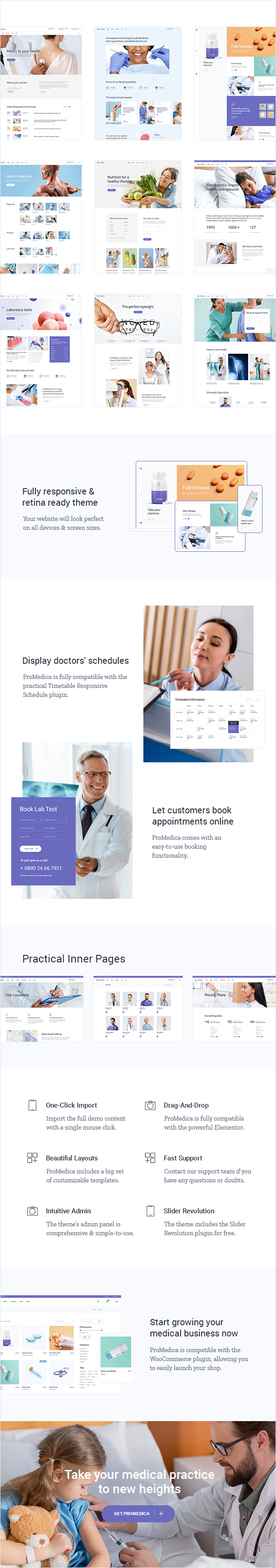 ProMedica - Medical and Healthcare Theme - 2